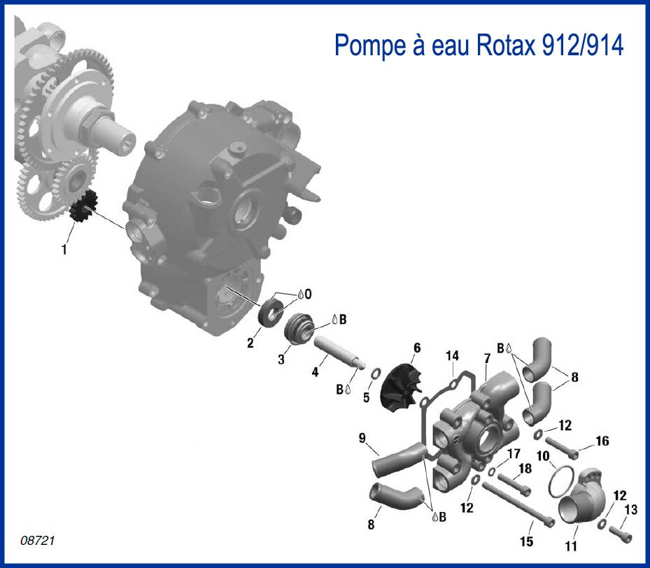 Demontage rotax 14